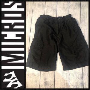 Micros black shorts sz 6